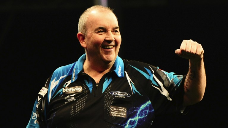 Phil Taylor is turning back the clock in this year's Premier League
