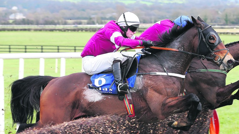 Sub Lieutenant on the way to victory in last year's running of the Naas contest