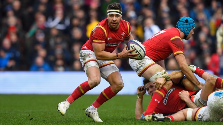 Scrum-half Rhys Webb is a tryscoring threat for Wales