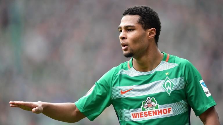 Werder Bremen's Serge Gnabry