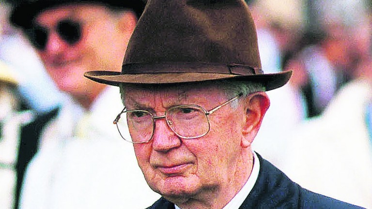 Vincent O'Brien: the legendary trainer was born 100 years ago on Sunday
