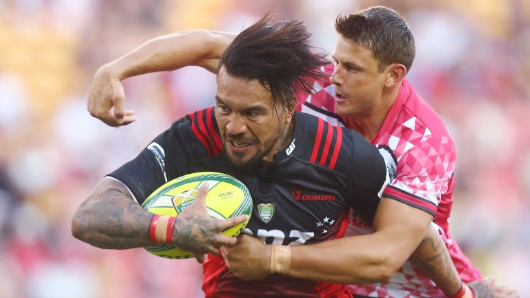 Former Reds winger Digby Ioane now lines up for the Crusaders