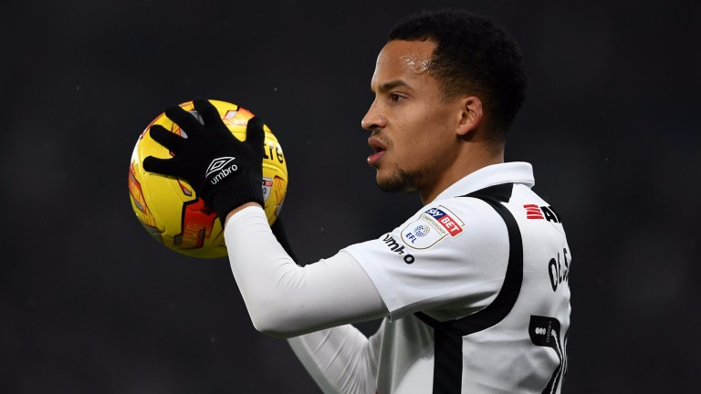 Marcus Olsson is part of an unsettled Derby defensive unit