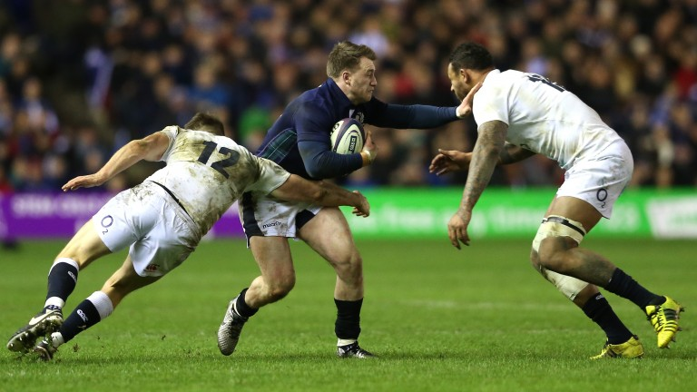 Stuart Hogg is Scotland's key try threat