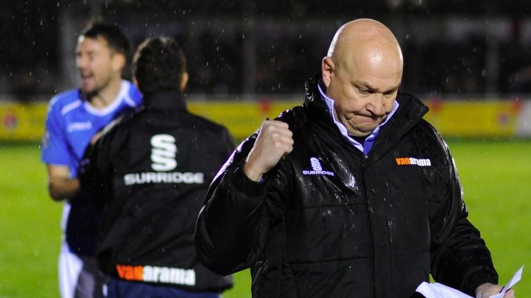 Eastleigh coach Richard Hill
