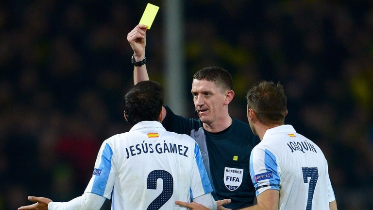 Referee Craig Thomson is an experienced top-level arbiter