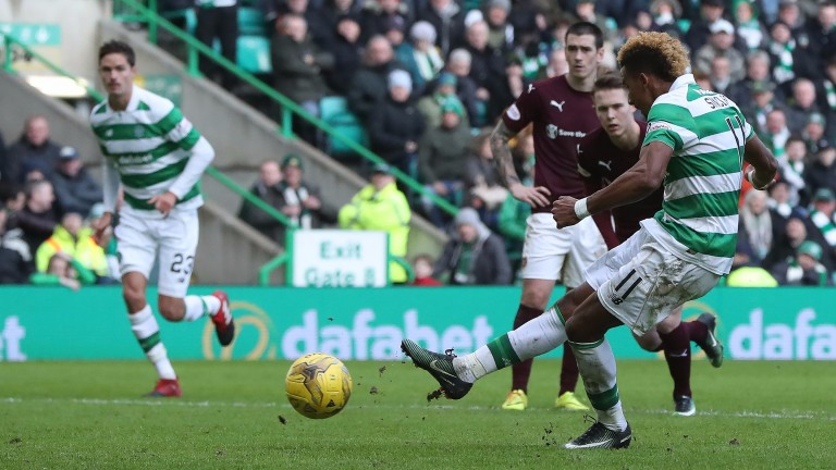 Celtic's Scott Sinclair has made a huge impact since arriving in Scotland