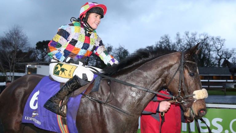 Someday: the impressive Leopardstown winner will be aimed at Fairyhouse and then Punchestown