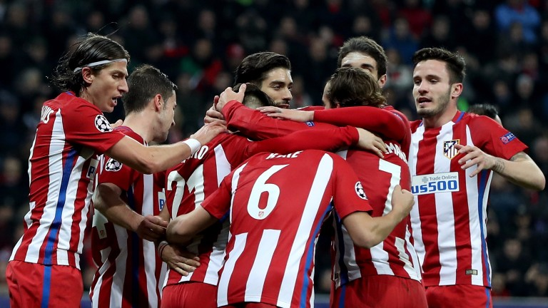 Atletico won the first leg 4-2 in Germany