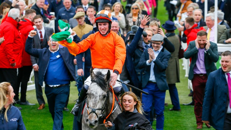 Jack Kennedy and Labaik return to a rousing reception