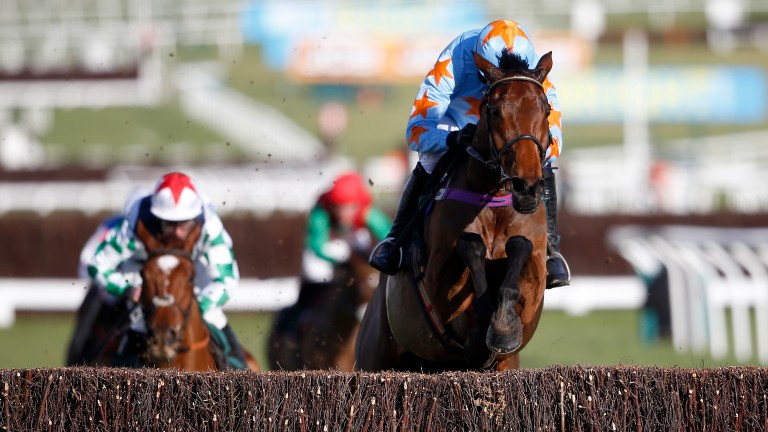 Un De Sceaux: looks for a second win in the Ryanair Chase