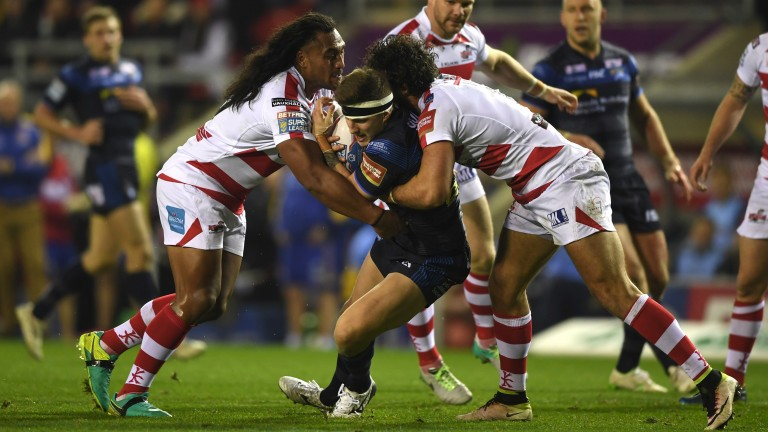 Leigh's defence wrap up Leeds stand-off Liam Sutcliffe