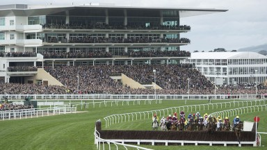 Cheltenham: racing starts at 1.30
