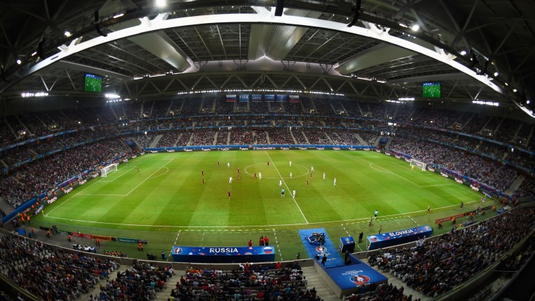 The Stade Pierre-Mauroy plays host to Lille v Marseille