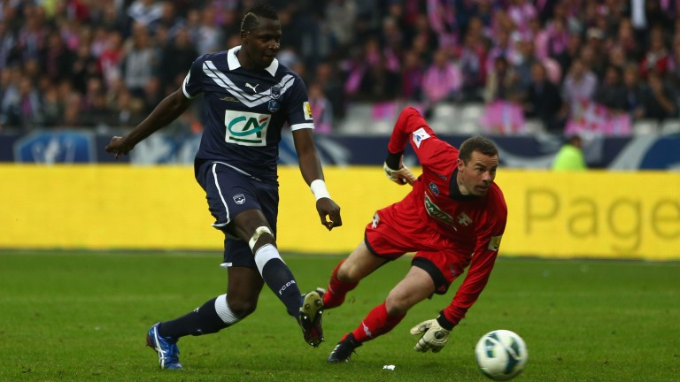 Cheick Diabate scored 50 league goals for Bordeaux