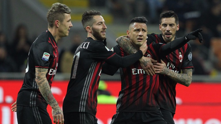 Milan take on Roma at San Siro