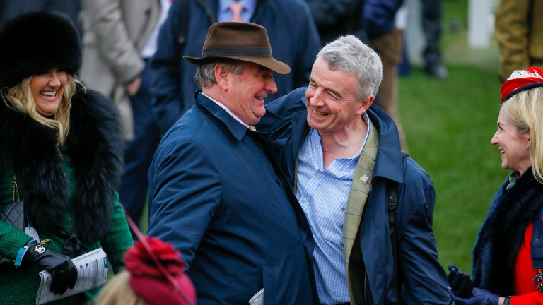 Noel Meade and Michael O'Leary have strong claims in the Kilbeggan feature with Net D'Ecosse