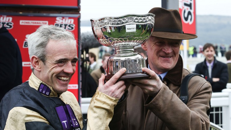 Day to remember: Nichols Canyon was part of a magnificent four-timer for Willie Mullins and Ruby Walsh