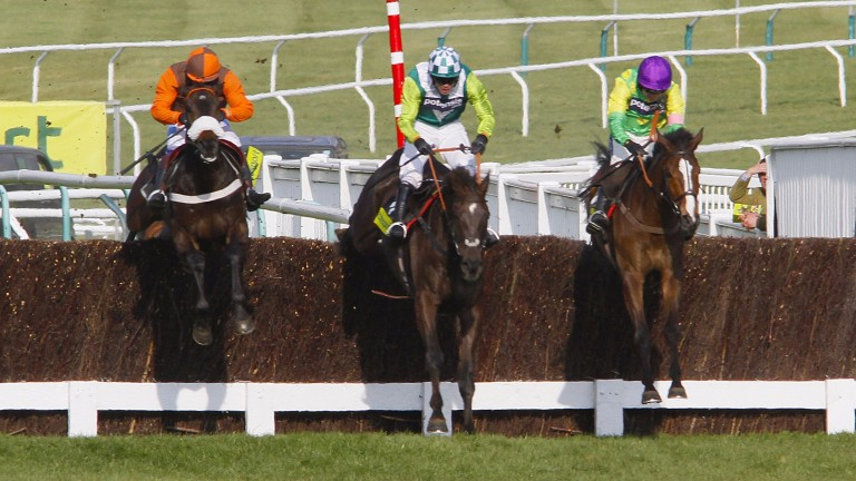 Long Run, Denman and Kauto Star served up a classic Gold Cup in 2011