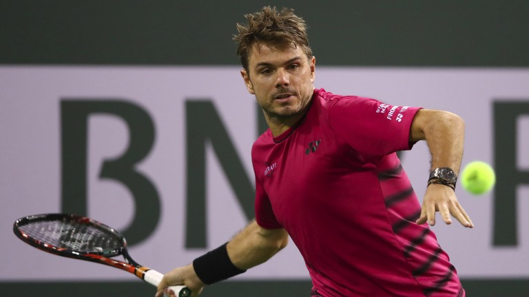 Stan Wawrinka may not have things all his own way