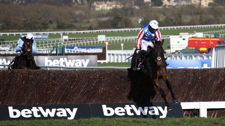 Champion Chase winner Special Tiara flies home to provide Noel Fehily with a second feature-race winner of the week