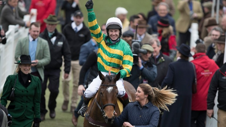 Defi Du Seuil and Richard Johnson return after winning the Triumph Hurdle