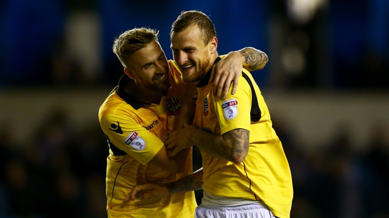 Bolton centre-backs David Wheater and Mark Beevers