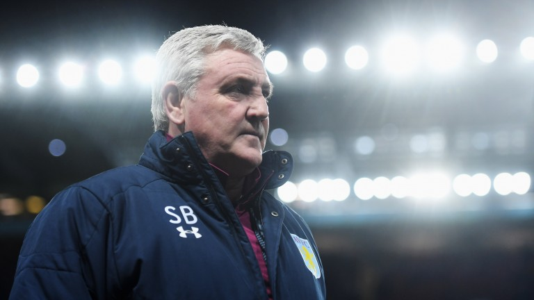 Cards have been less frequent in Aston Villa's games since Steve Bruce took over