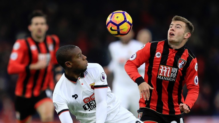 Bournemouth's Ryan Fraser (right) has bags of potential