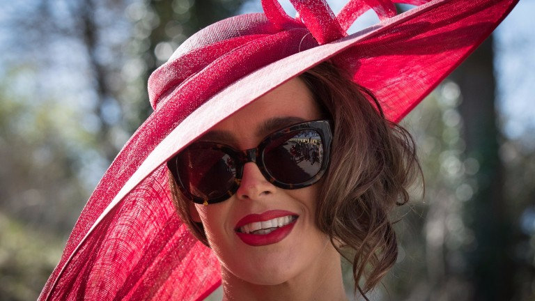 Colour is the name of the game on ladies' day