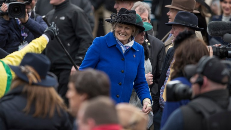 Jessica Harrington: saddled a treble at Cork on Saturday