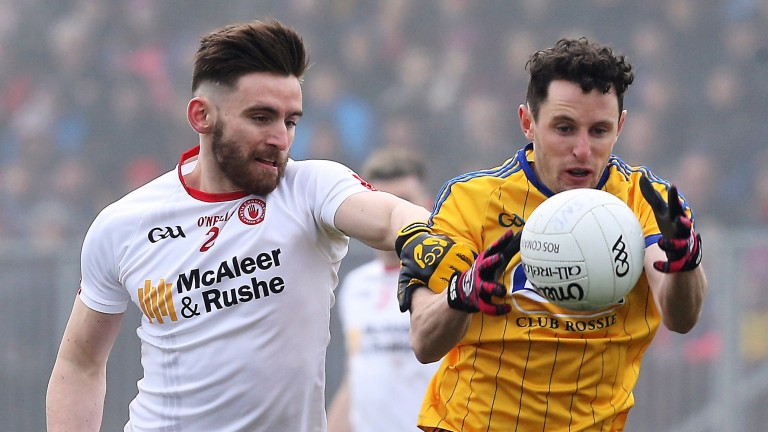 Ciarain Murtagh (right) is part of a dangerous Roscommon full-forward line