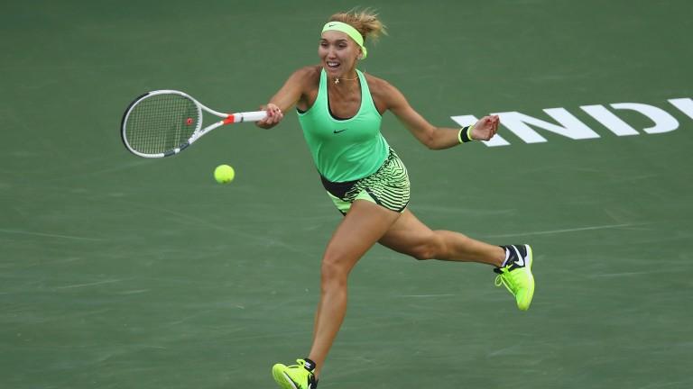 Elena Vesnina has enjoyed a terrific run at Indian Wells
