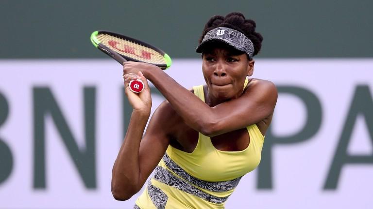 Venus Williams at Indian Wells