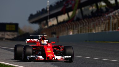 Sebastian Vettel will be hoping the speed his Ferrari showed in testing was genuine