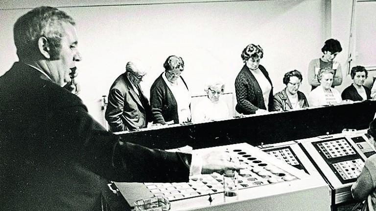 Bingo in the Plough Lane grandstand 1960s style