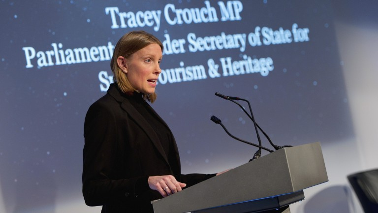 Sports minister Tracey Crouch: Plans will provide a fair return for racing