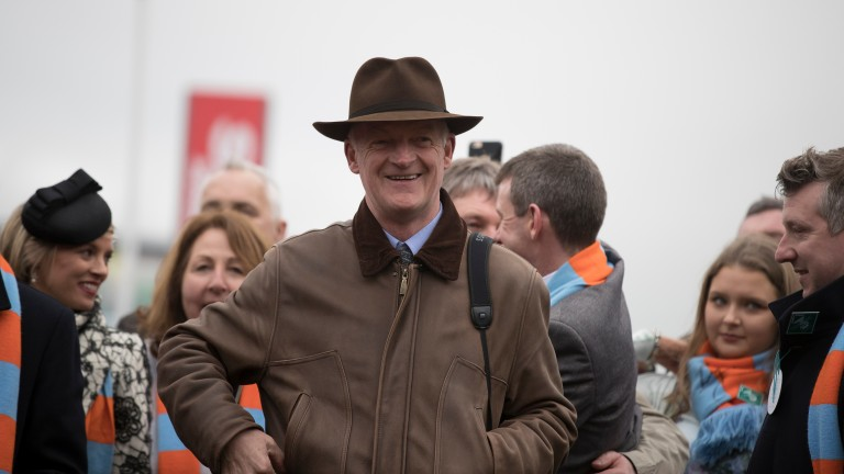 Willie Mullins: managed to successfully defend his trainers' title