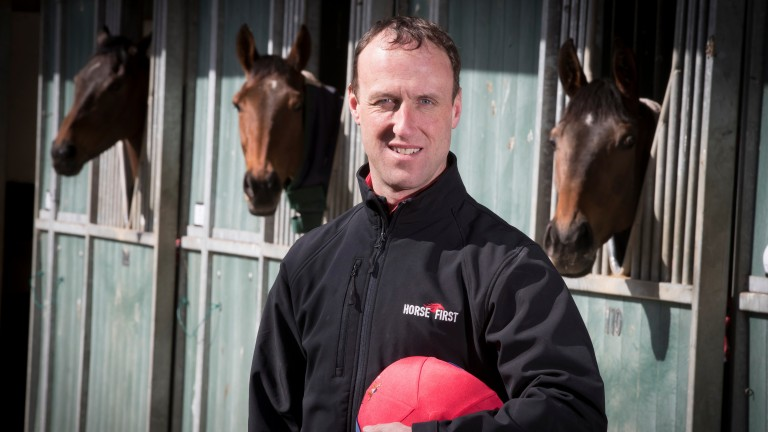 Robbie Power at Jessica Harrington's Moone yard, where he has been number one since 2008