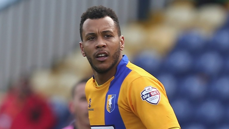 Mansfield's leading scorer Matt Green will cause Morecambe plenty of problems