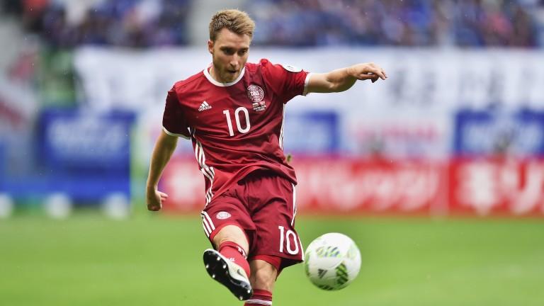 Denmark playmaker Christian Eriksen
