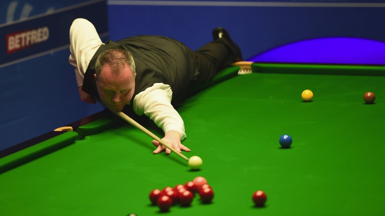 Veteran potter John Higgins is yet to win the China Open