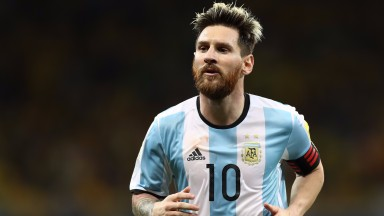 Lionel Messi scored Argentina's winner against Chile