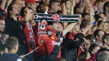 Guingamp's supporters will be cheering them on against Nancy
