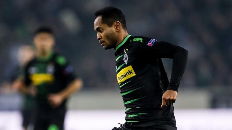 Monchengladbach's Brazilian forward Raffael