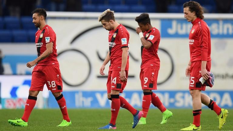 Bayer Leverkusen lost at Hoffenheim in their last Bundesliga match