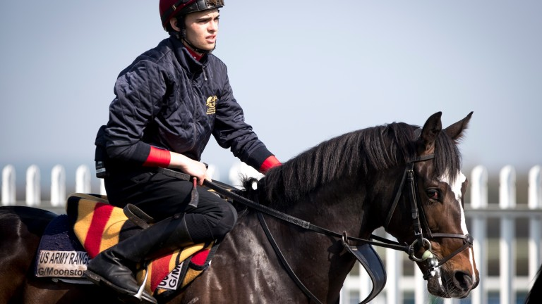 US Army Ranger with Donnacha O'Brien: may return in a Group 2 at Naas