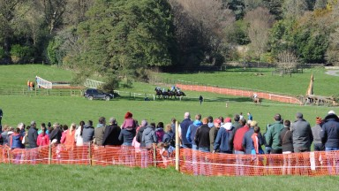 26-3-17 MONKSGRANGE PTP Action from Monksgrange.HEALY RACING PHOTO
