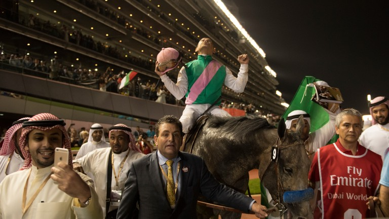 Arrogate: the all-time table-topper