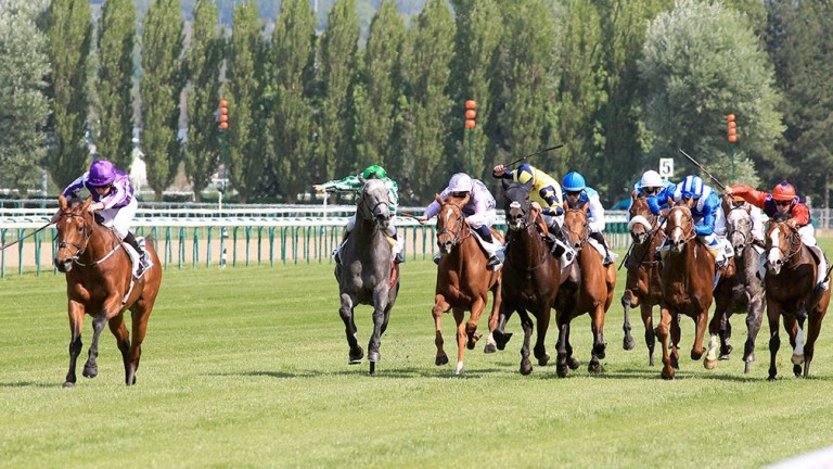 The Poule d'Essai weekend was moved to Deauville in 2016 and 2017